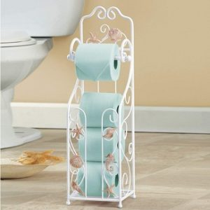 Beach & Coastal Toilet Paper Holders and Stands