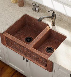 Copper Farmhouse Sinks