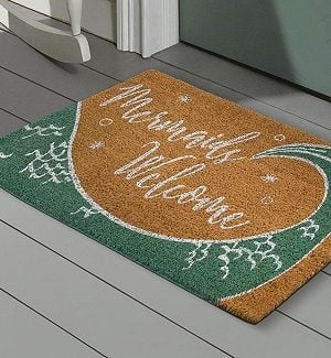 Mermaid Doormats and Mermaid Floor Mats
