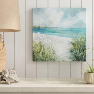 27CoastalFences27PaintingonWrappedCanvas Beach Paintings & Coastal Paintings