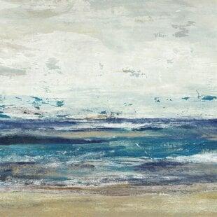 27IndigoHorizonI27PaintingonCanvas Beach Paintings & Coastal Paintings