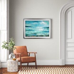 27IsleInlet27-PictureFramePrintonCanvas Beach Paintings & Coastal Paintings