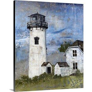 27LighthouseBeaconI27PaintingonCanvas Beach Paintings & Coastal Paintings