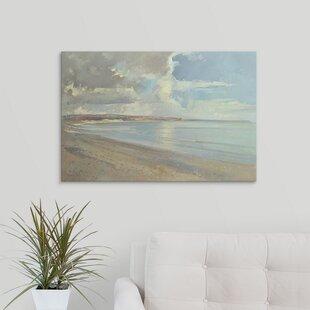 27ReflectedClouds2COxwichBeach2C200127PaintingPrint Beach Paintings & Coastal Paintings