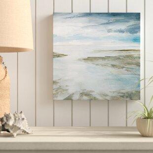 27ShimmeringTides27OilPaintingPrintonWrappedCanvas Beach Paintings & Coastal Paintings
