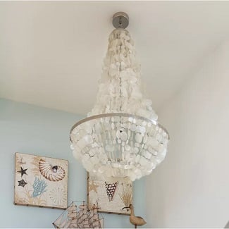 Bette-3-Light-Unique-Statement-Empire-Chandelier 150+ Beach Chandeliers & Coastal Chandeliers