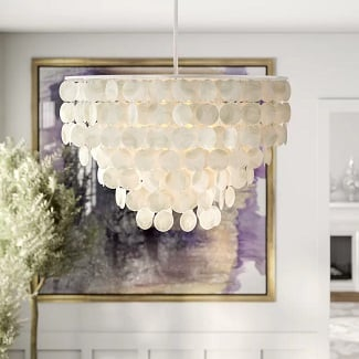 henry-Statement-Tiered-Chandelier Beach Chandeliers & Coastal Chandeliers