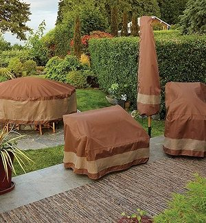 Coastal Outdoor Furniture Covers