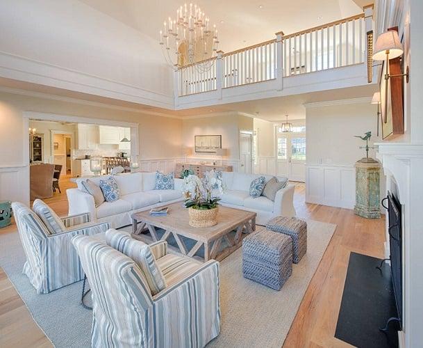 Beach-Living-Room-Design 101 Beach Themed Living Room Ideas