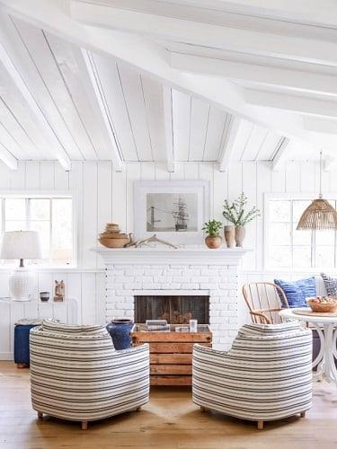 Beach-Style-Living-Room 101 Beach Themed Living Room Ideas