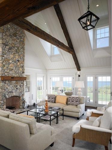 Chappaquiddick-Island-by-Patrick-Ahearn-Architect 101 Beach Themed Living Room Ideas