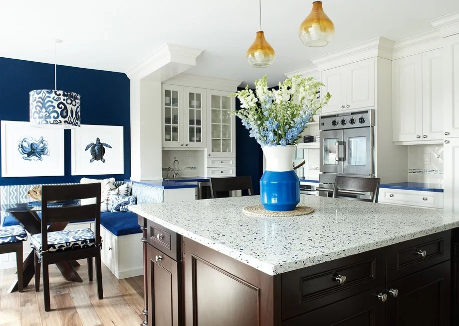 Coastal-Kitchen-Design-by-KBW-Associates Beach Kitchen Decor and Coastal Kitchen Decor