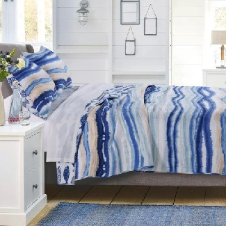 Creekmont-Reversible-Quilt-Set Beach Quilts & Nautical Quilts & Coastal Quilts
