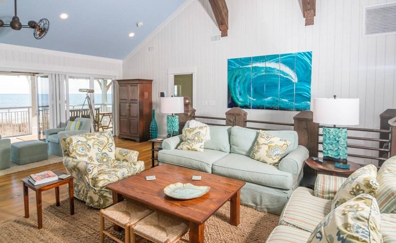 Myrtle-Beach-Renovation-by-CRG-Companies 101 Beach Themed Living Room Ideas