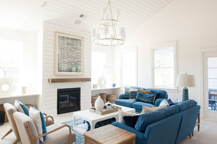 Oak-Bluff-Model-by-JLV-Creative 101 Beach Themed Living Room Ideas
