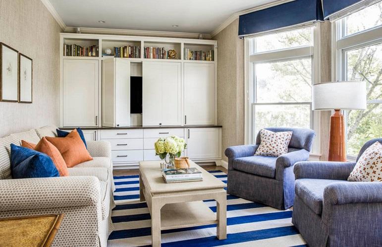 Ocean-View-by-Kennerknecht-Design-Group 101 Beach Themed Living Room Ideas