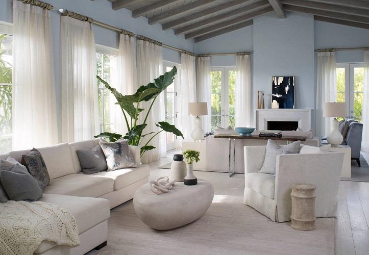 Santa-Barbara-California-by-Smith-Firestone-Associates 101 Beach Themed Living Room Ideas