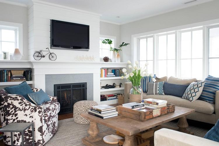 Westport-Beach-House-by-Bensonwood 101 Beach Themed Living Room Ideas