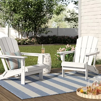White-Lopes-Resin-Folding-Adirondack-Chair Adirondack Chairs For Sale