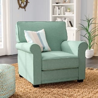 Blue-Torsten-Armchair Coastal Accent Chairs & Beach Accent Chairs