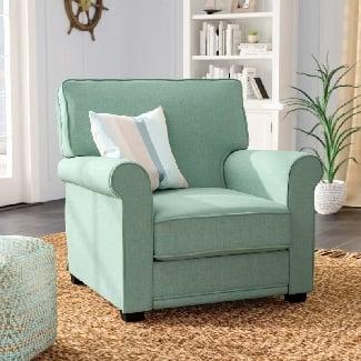 Blue-Torsten-Armchair Coastal Accent Chairs & Beach Accent Chairs