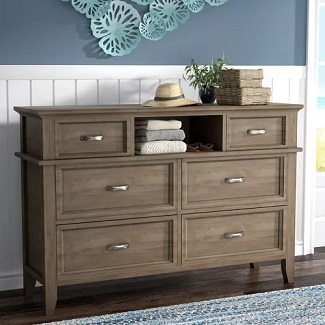 Cartwright-6-Drawer-Dresser Coastal Dressers & Beach Dressers
