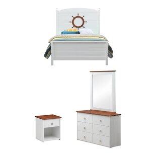 FarahStandardConfigurableBedroomSet Beach Bedroom Furniture and Coastal Bedroom Furniture