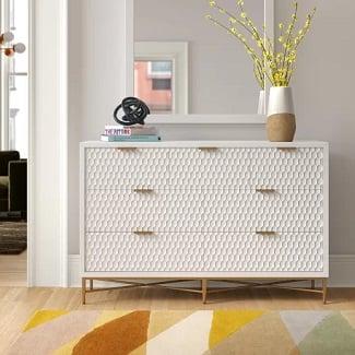 Francesca-7-Drawer-Double-Dresser Coastal Dressers & Beach Dressers