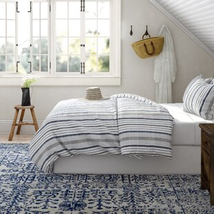 KellnerGray_Blue100Cotton230TCReversible3PieceComforterSet Nautical Bedding Sets & Nautical Bedspreads