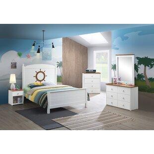 Platform5PieceBedroomSet Beach Bedroom Furniture and Coastal Bedroom Furniture