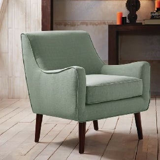 Sea-Foam-Spraggins-Armchair Coastal Accent Chairs & Beach Accent Chairs