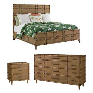 TwinPalmsPlatformConfigurableBedroomSet Beach Bedroom Furniture and Coastal Bedroom Furniture