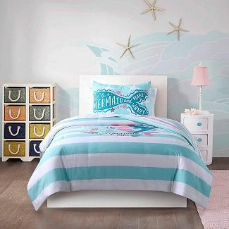 mermaid-bedding-in-a-bag-comforter-kids Mermaid Bedding Sets & Comforter Sets