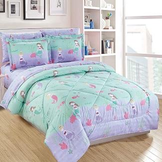 mermaid-comforter-bedding Mermaid Bedding Sets & Comforter Sets
