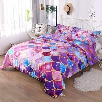 mermaid-comforter-set-2 Mermaid Bedding Sets & Comforter Sets