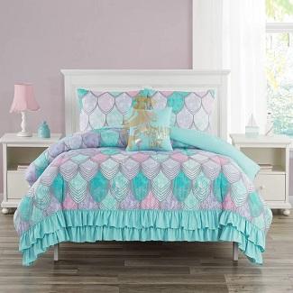 mermaid-comforter-set-wf-1 Mermaid Bedding Sets & Comforter Sets