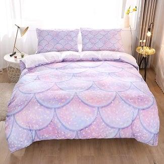 mermaid-duvet-2 Mermaid Bedding Sets & Comforter Sets