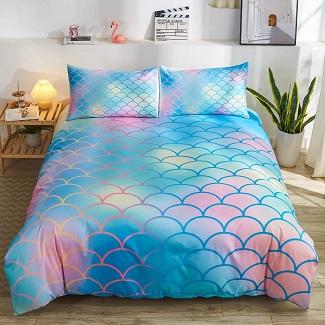 mermaid-duvet-cover-set-1 Mermaid Bedding Sets & Comforter Sets