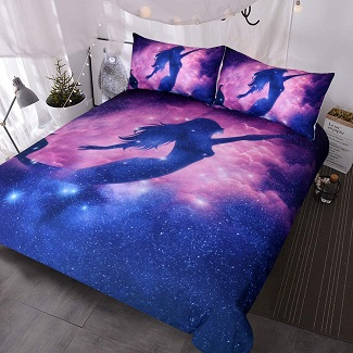 mermaid-fantasy-duvet-cover Mermaid Bedding Sets & Comforter Sets