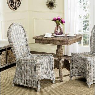 AlvertaSideChairinWhiteWashed28Setof229 Wicker Chairs & Rattan Chairs