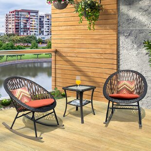 BaumRockingChairwithCushions28Setof229 Wicker Chairs & Rattan Chairs