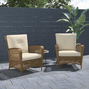 EdwardsPatioChairwithCushions28Setof229 Wicker Chairs & Rattan Chairs