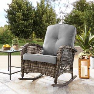 HanwellRockingChairwithCushions Wicker Chairs & Rattan Chairs