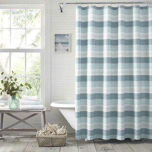 HulaBeach10025CottonShowerCurtain Beach Shower Curtains & Nautical Shower Curtains