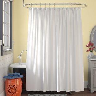 MicrobanMicrofiberFabricSingleShowerCurtainLiner Beach Shower Curtains & Nautical Shower Curtains