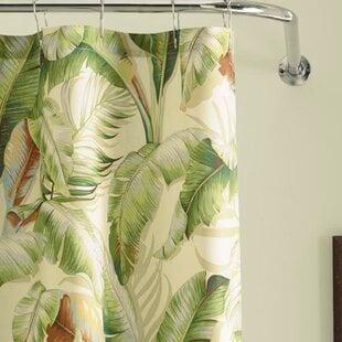 PalmiersCottonSingleShowerCurtain Beach Shower Curtains & Nautical Shower Curtains