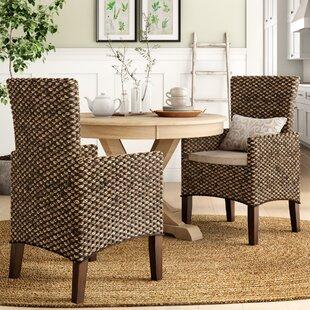 RattanArmChairinHazlenut28Setof229 Wicker Chairs & Rattan Chairs