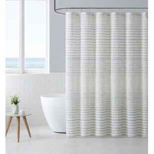 StripedSingleShowerCurtain Beach Shower Curtains & Nautical Shower Curtains