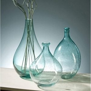 Bubble Glass Bottles & Vases