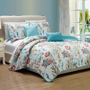 Queen Beach Bedding & Queen Coastal Bedding